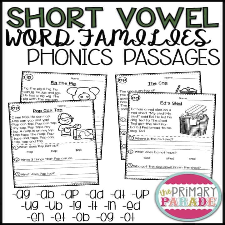 cvc-short-vowel-activities
