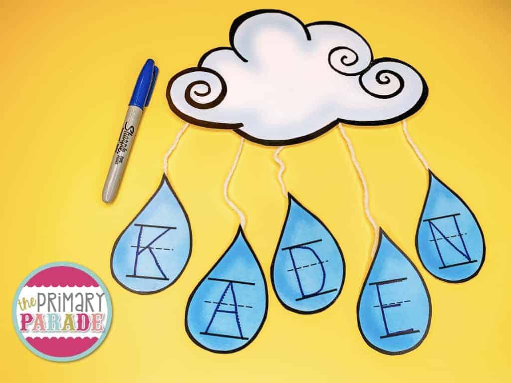 preschool-name-activity