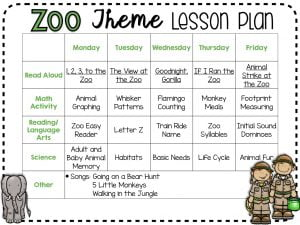 zoo-lesson-plan